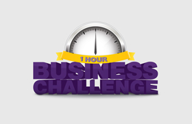 ! Hour Businss Challenge Logo Design